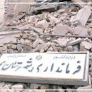 نقش سازمان های مردم نهاد در زلزله بم