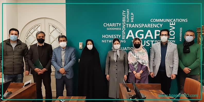 آگاپه و انجمن کلیوی ایران تفاهمنامه امضا کردند
