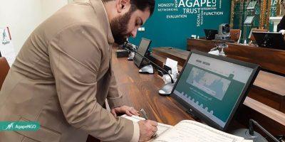آگاپه میزبان دبیر فراکسیون سازمان های مردم نهاد مجلس